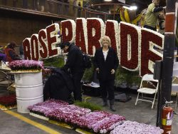 Marcie, Rose Parade float