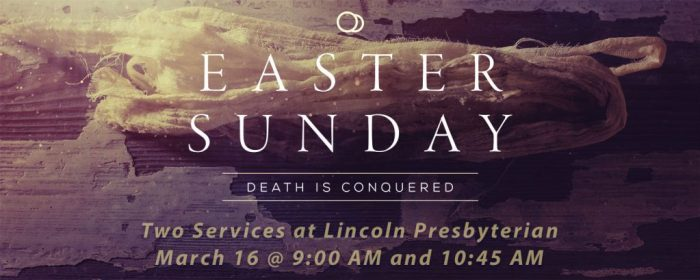 Easter-worship the one who conquered sin and death