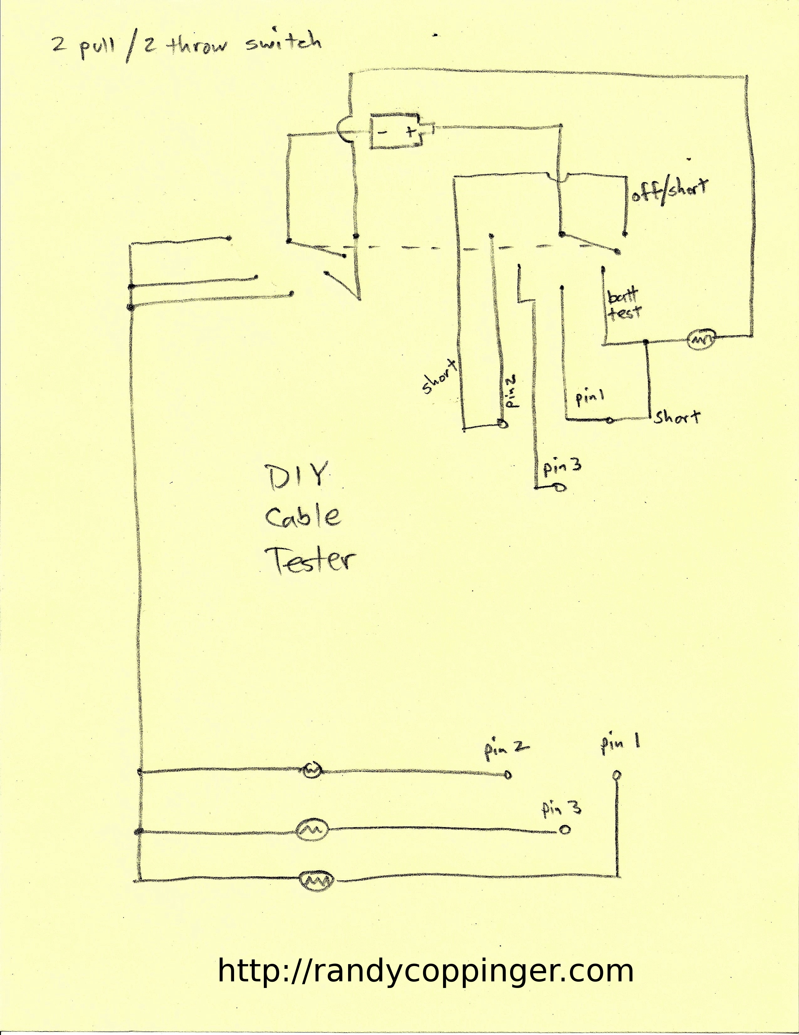 diy house wiring diagrams for trailer plugs audio cable tester schematics get free image about