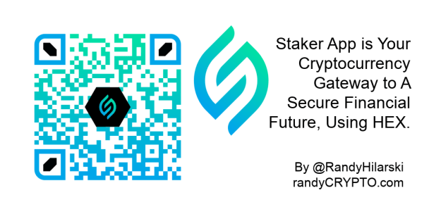 stake HEX with Staker app
