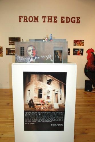 LaMaMa LaGalleria | Bill Bloodgood's model for his architectural pavilion