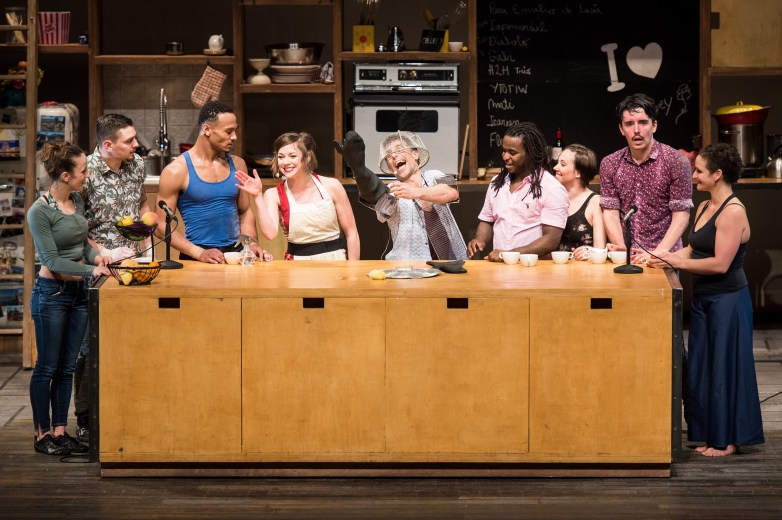 Cuisine & Confessions is a New York premiere by the Montreal-based circus The 7 Fingers