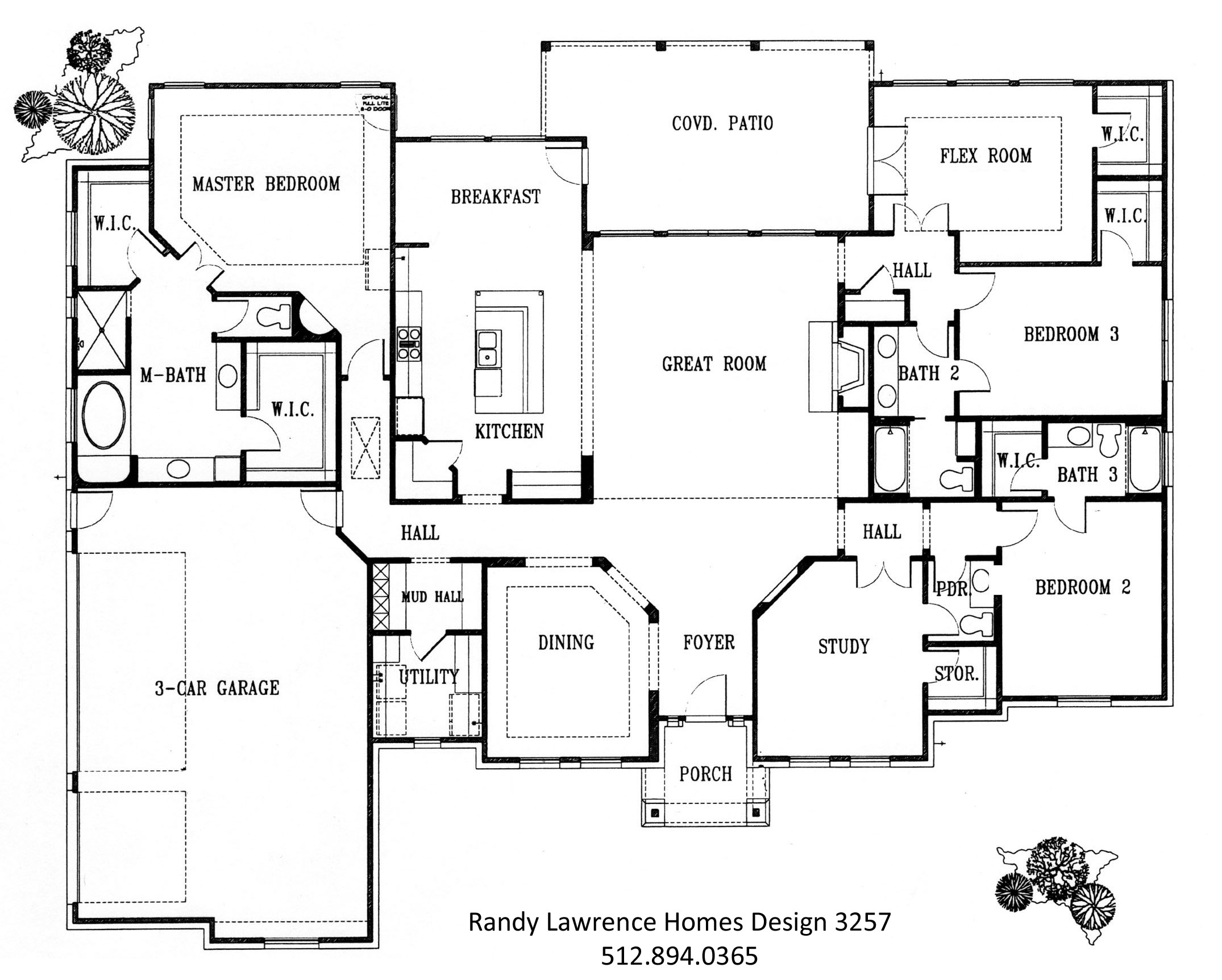 floor plans randy lawrence