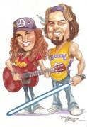 Denise Vasquez and Randy Martinez