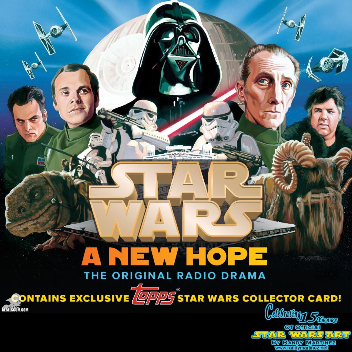 Art Focus Official Star Wars A New Hope Radio Drama CD