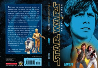 Star Wars Rebel Force: Book 1 Cover Illustration (Front and Back)
