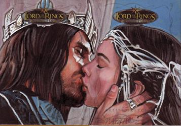 topps-lotr-wedding-kiss