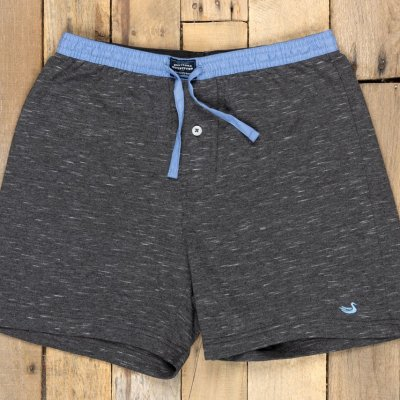 Southern Marsh Hearth French Terry Shorts, Midnight Grey