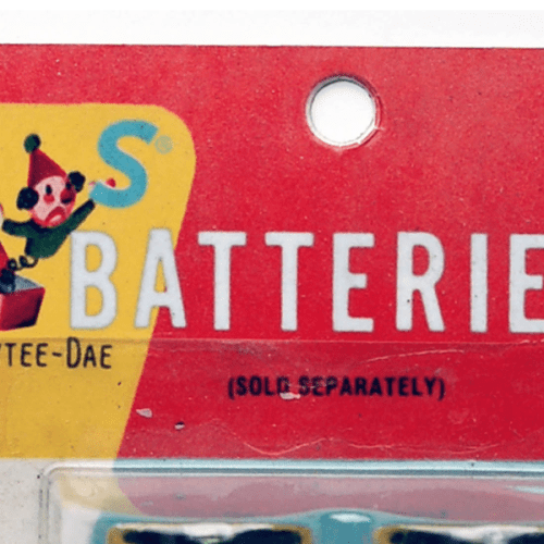 Batteries Sold Separately