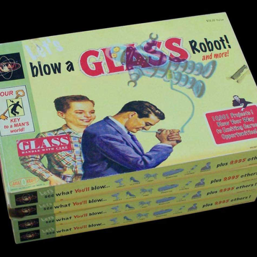 Let's Blow a Glass Robot!