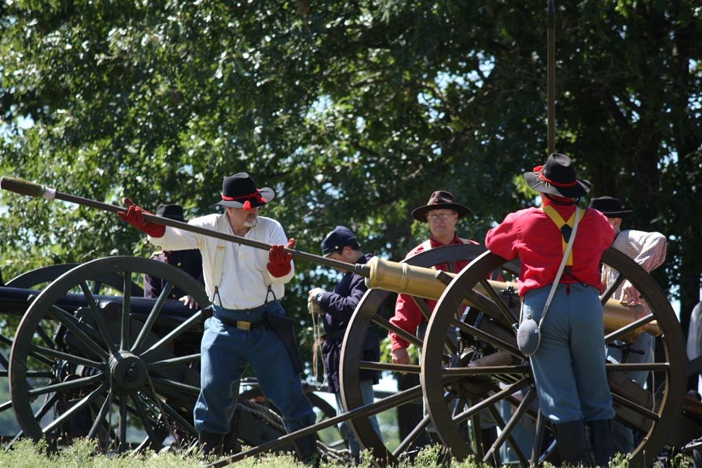 Civil War Artillery  The Trail