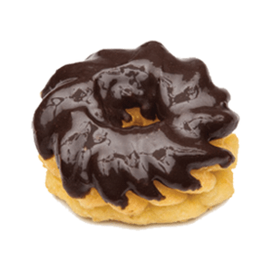 Randy's Chocolate Iced Cruller Donut