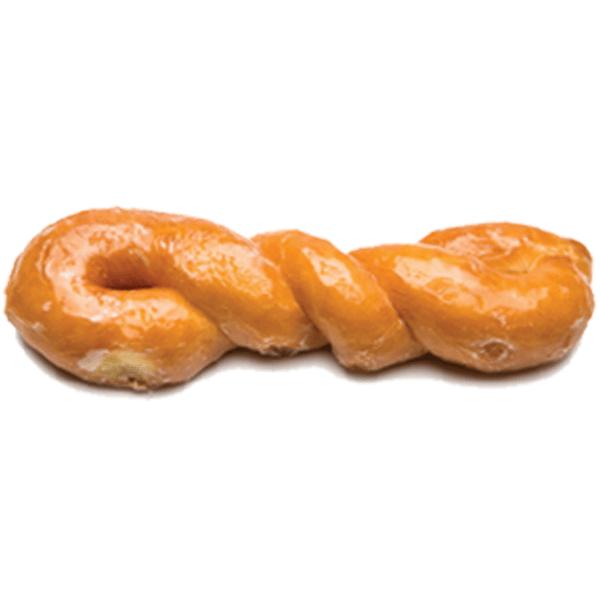 Randy's Glazed Twist Donut