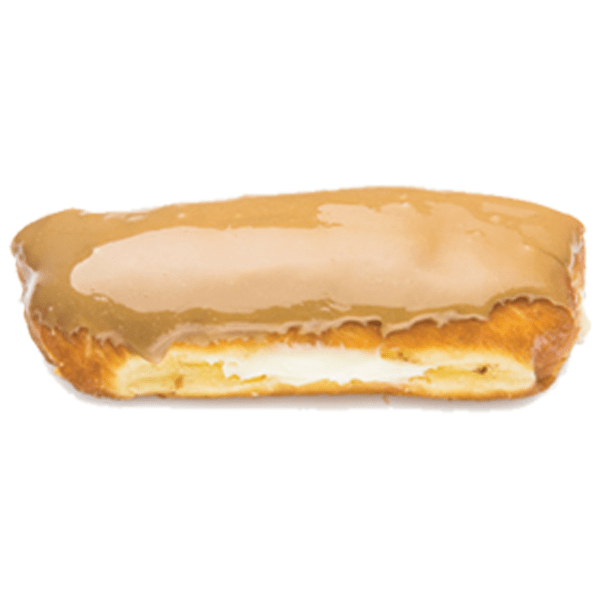 Randy's Maple Long John Donut w/ Cream