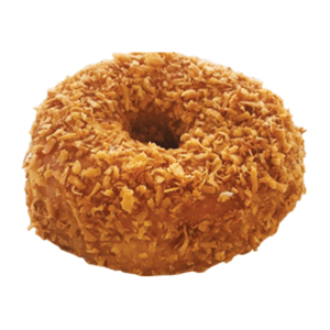 Randy's Roasted Coconut Raised Donut