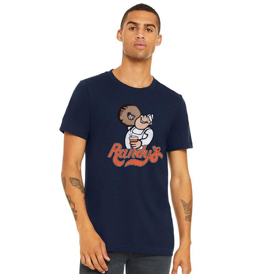Randy's Donuts Navy Blue T-shirt