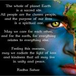 There Are No Chosen People, Religions Or Governments On The Planet
