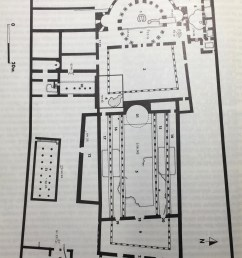 reconstructed plan of constantinian basilica at holy sepulcher after gibson and taylor 1994 p 75  [ 2368 x 3209 Pixel ]
