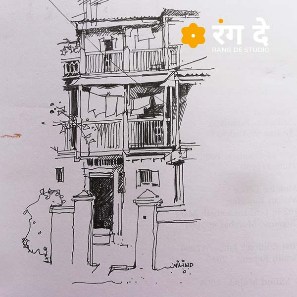 Learn sketching from Milind Mulick
