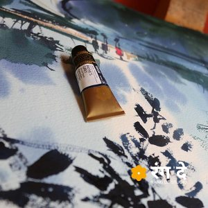Mijello-Mission-Gold-Class-Professional-Grade-Watercolour-Paynes-Gray-15-ml