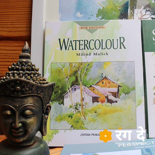 Buy best Watercolour book by Milind Mulick online