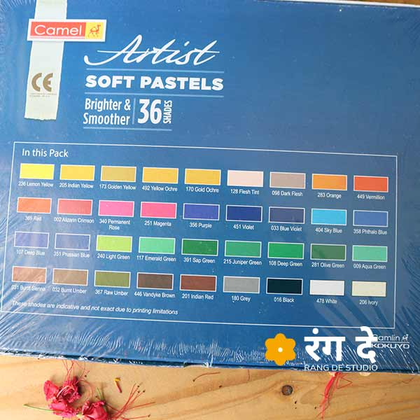 Buy artist oil pastels online from Rang De Studio. The brand-new packs with 25 shades & 50 shades options