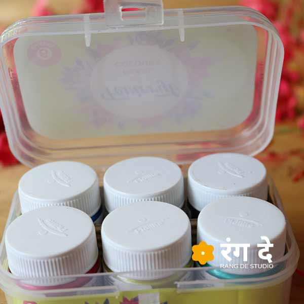Buy fevicryl acrylic pearl colours online from Rang De Studio