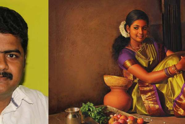 S Elayaraja - The Realistic Painter - Coloring India Foundation