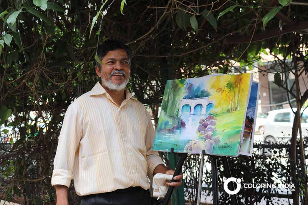Milind Mulick | Fine Artist | Coloring India Foundation