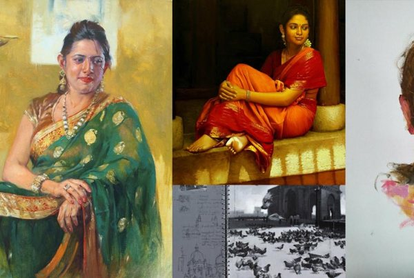 Oil-painters-of-India-and-thier-oil-paintings_coloring-India-Foundation