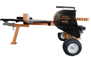 RR34E 34 Ton Kinetic Gas Log Splitter