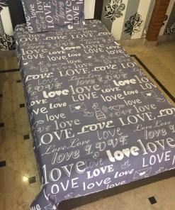 single bedsheet cover