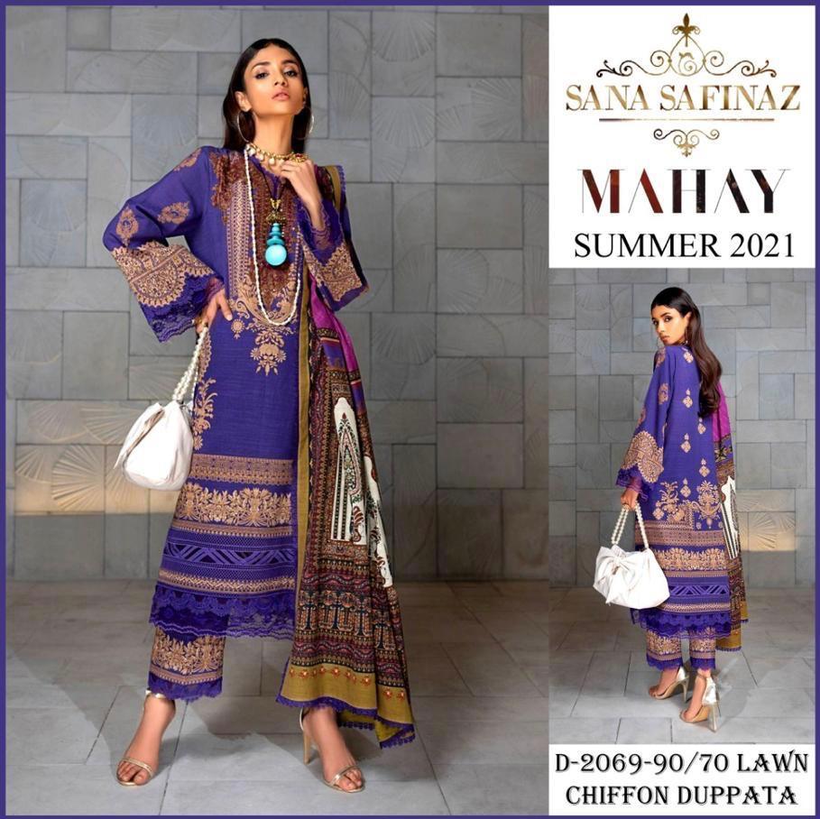 Sana Safinaz Summer Collection 2021