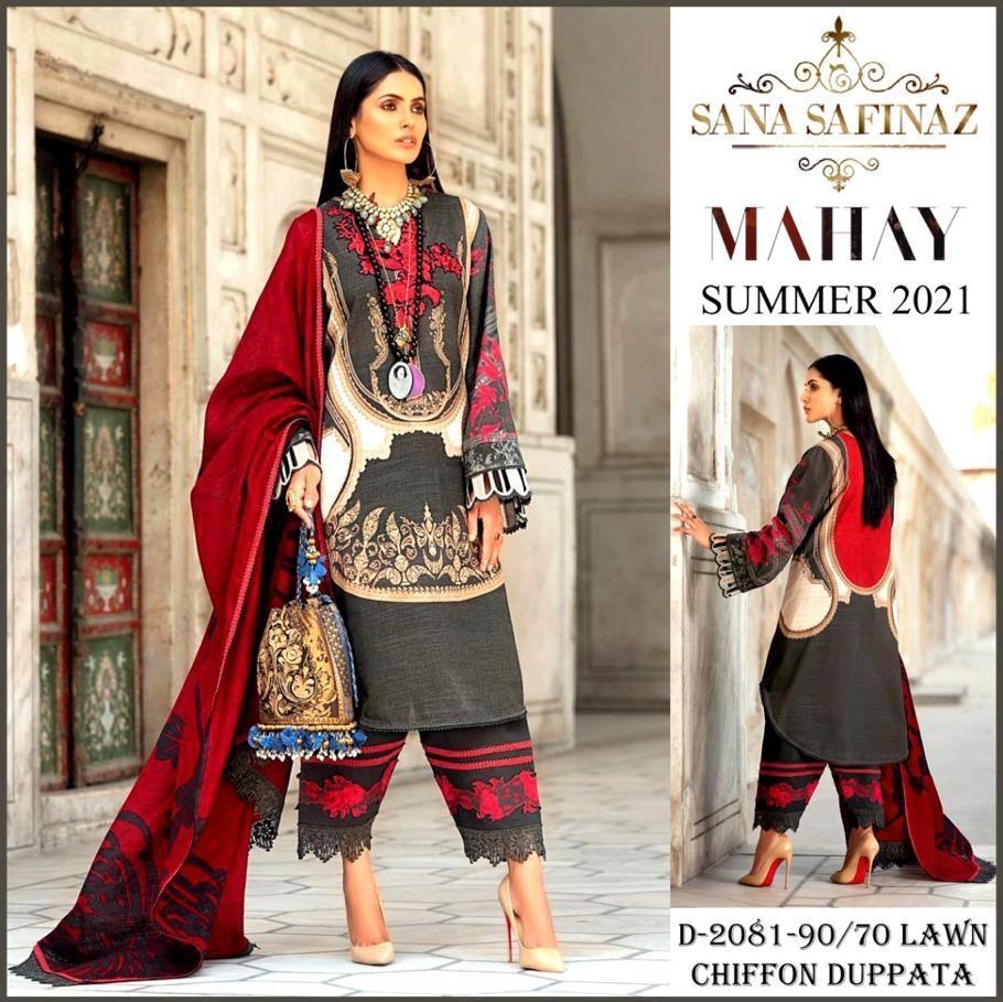 Sana Safinaz Summer Designs 2021