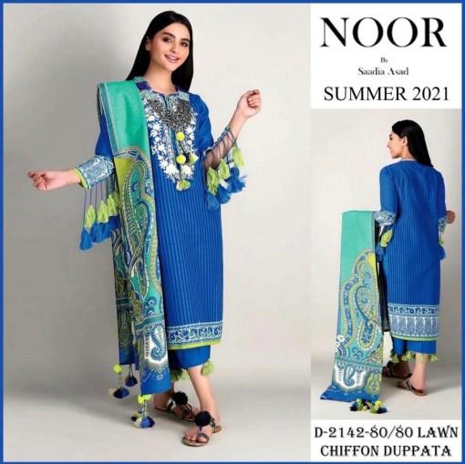 noor by sadia summer suiting