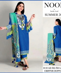 noor by sadia summer suiting