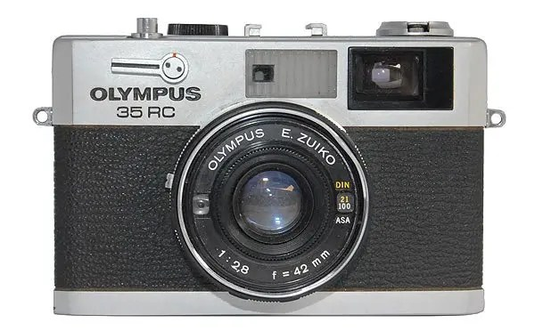 Olympus 35 RC 35mm rangefinder film camera