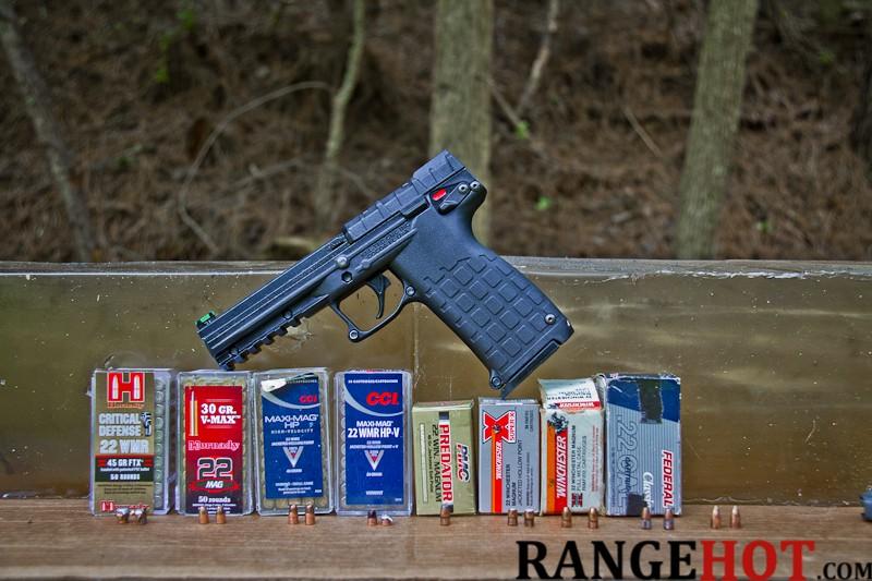 22 Winchester Magnum ballistic test ( 22 WMR)