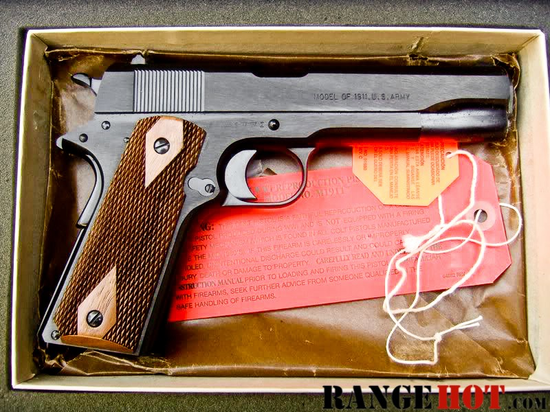 Colt Model 01918, an old warhorse is revisited