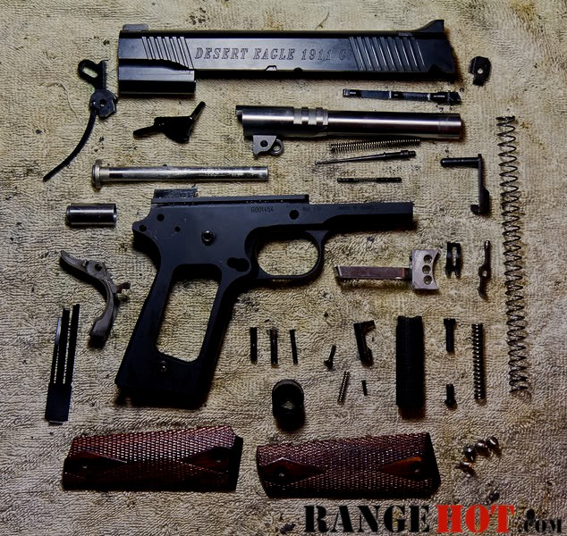 Colt 1911 Vs Desert Eagle - The Best Of Desert 2018