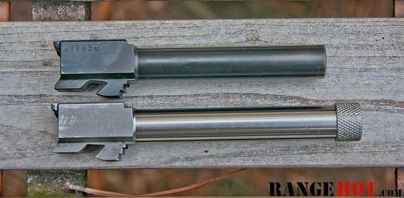 Lone Wolf 9mm threaded barrel