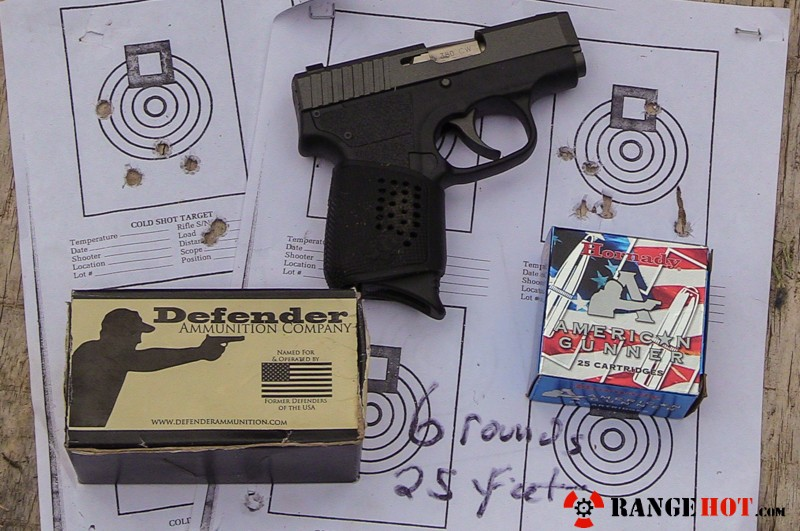 Kahr Arms CW 380 Tungsten gussied up pocket pistol  - Range Hot