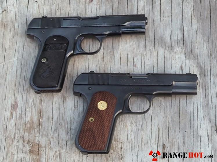 Colt1903 Pocket Hammerless, by US Armament Corp  - Range Hot