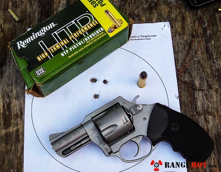 Charter Arms Mag Pug  41 Magnum, a handful  - Range Hot