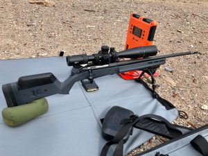 Ruger American at the Range