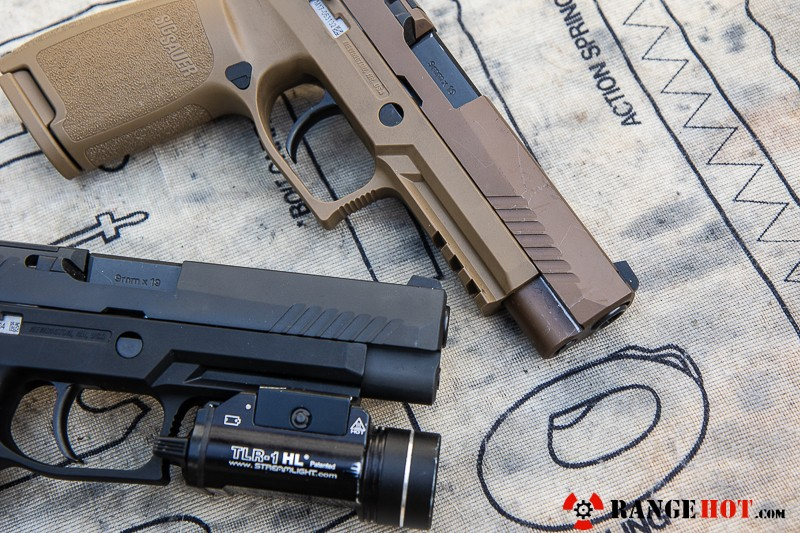 Sig Sauer M17, the sidearm of freedom  - Range Hot