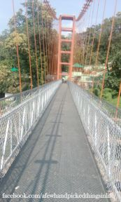 View of the bridge, from the bridge but not by the bridge :P