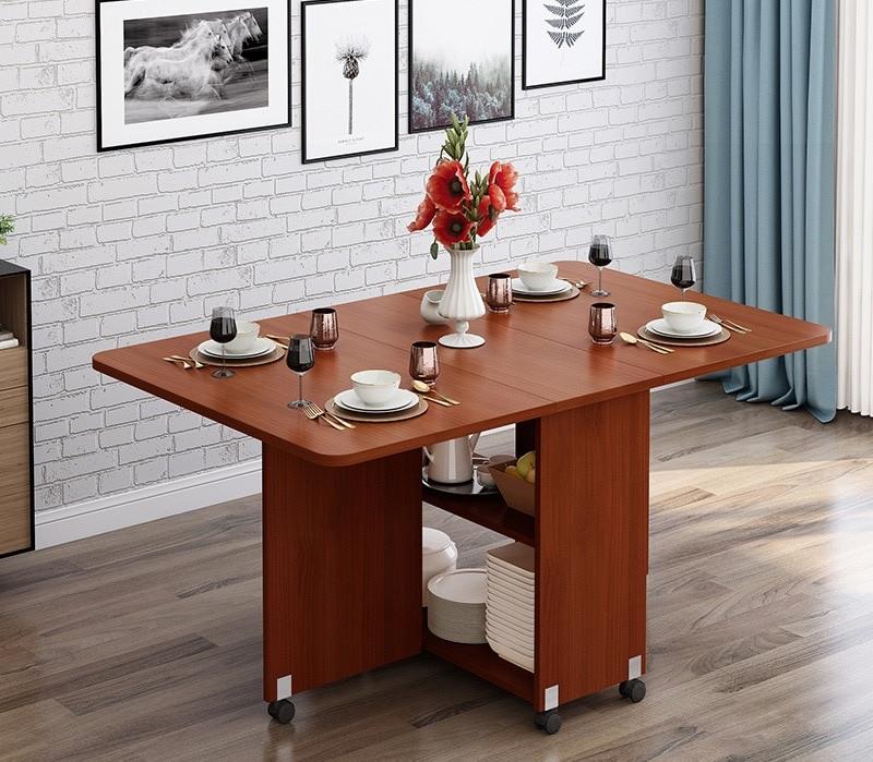 table pliante de salon en bois massif