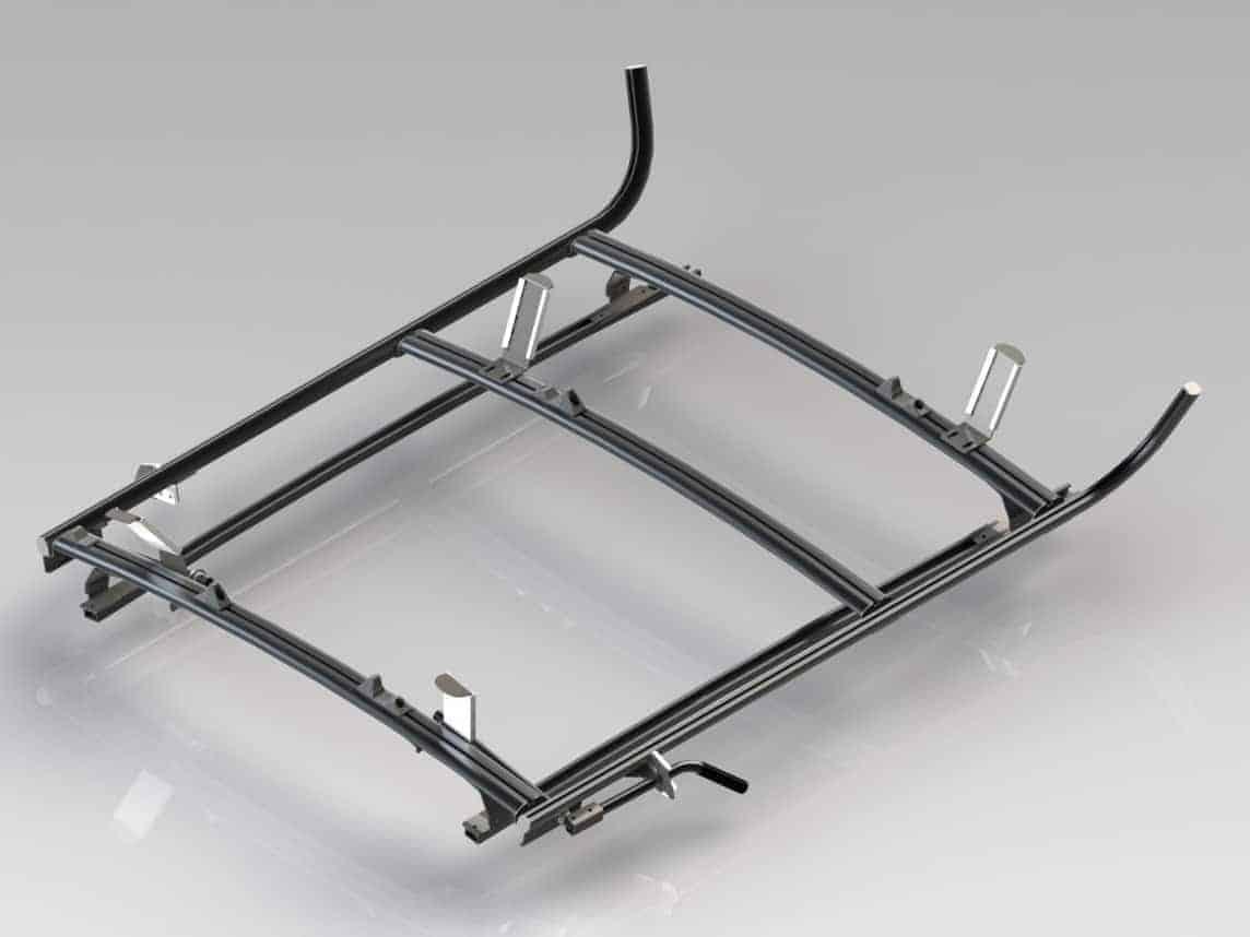 Combination Ranger Ladder Rack 2 Bar System Nissan
