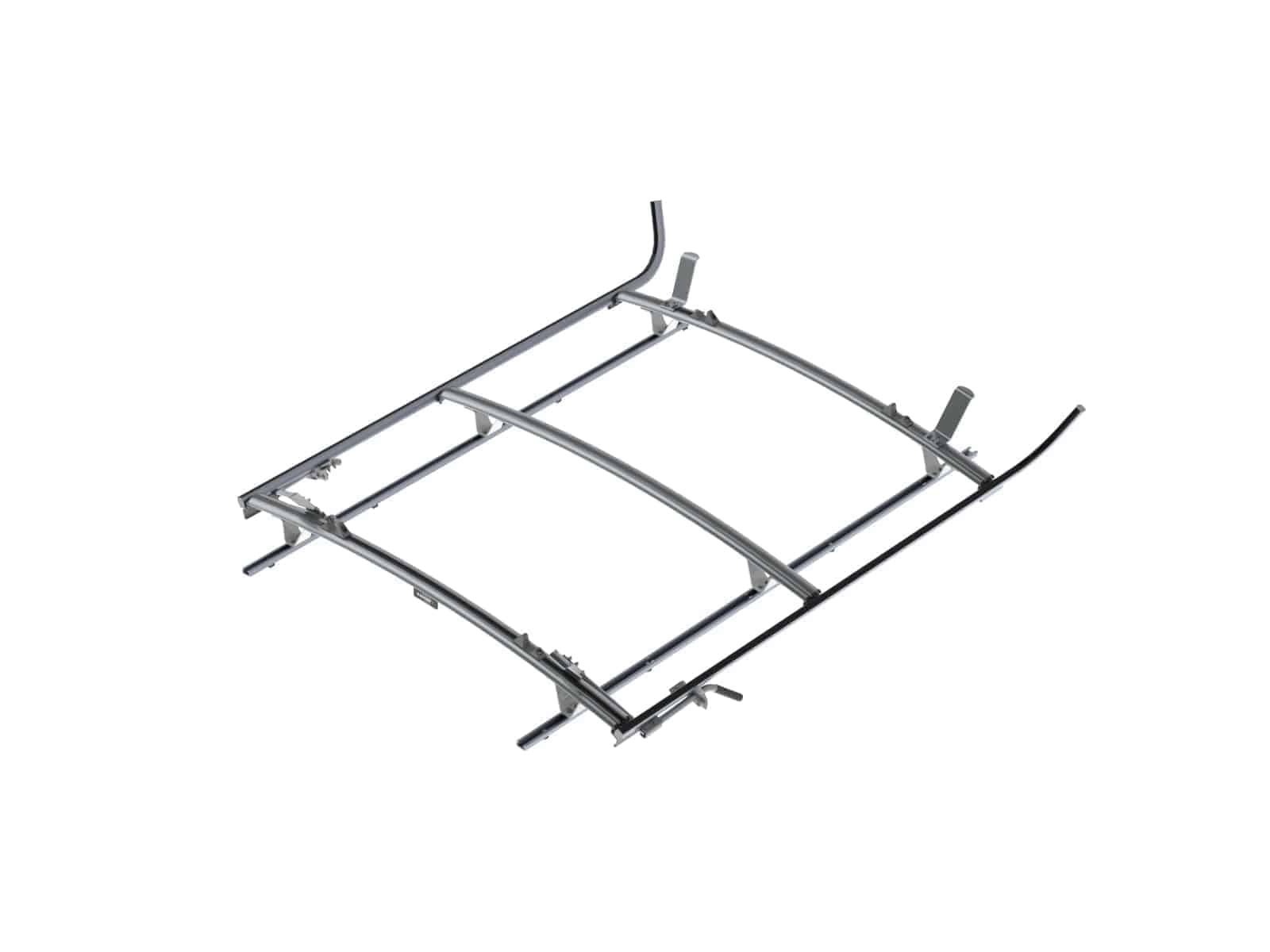 Double Side Ladder Rack For Ford Transit, LWB, 3 Bar